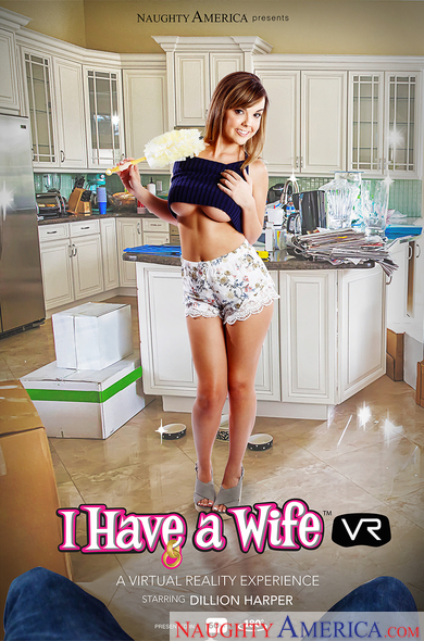 Dillion Harper In I Have A Wife VR Porn