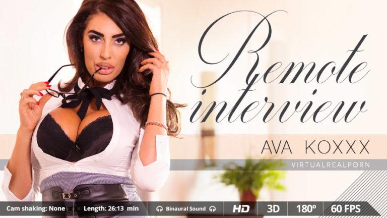 Remote interview