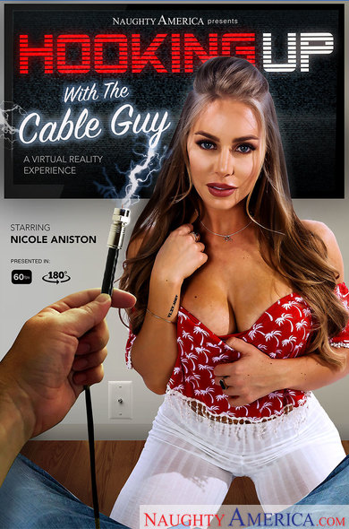 Nicole Aniston in Hooking up with the cable guy VR Porn